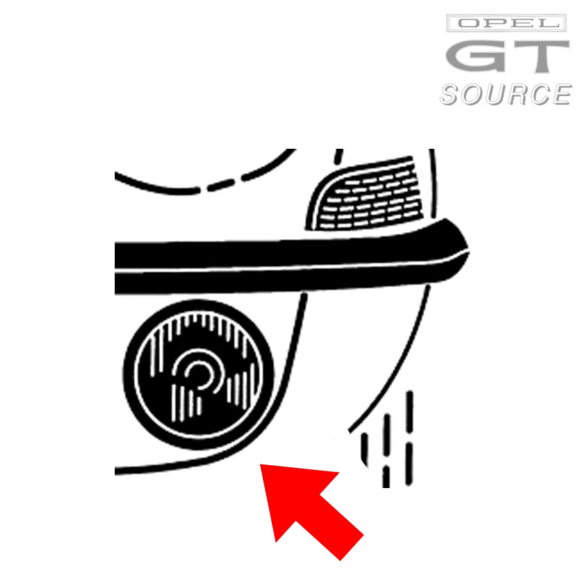 5065_opel_gt_front_turn_signal_lens_amber_diagram01