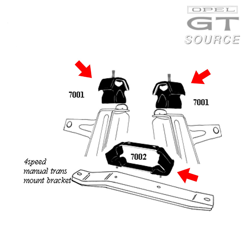 7001k_opel_gt_driveline_mount_kit_diagram02